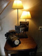 antique Phone machine age RETRO DIAL TELEPHONE ART DECO Direction Management old