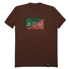 T-shirt Dainese AGV 1947 retro Brown talla XXL