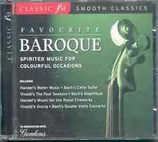 FAVOURITE BAROQUE - CLASSIC FM CD (2006) VIVALDI HANDEL BACH CORELLI TELEMANN ++