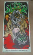 Sleep David D'Andrea Austin signed concert poster gig art print 2016