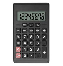 Calculator Helect Compact Design Standard Function Handheld Office Portable