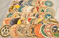 47 VINTAGE PAPER ADVERTISING BEER MATS COASTERS GERMANY EUROPE ASSORTED BRANDS