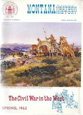 MONTANA. The Magazine of Western History. 4 ISSUES 1962