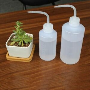 LDPE Clear Plastic Lab Safety Squirt Squeeze Bottle 250/500/1000ml - Ships US