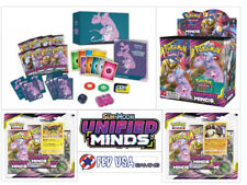 Pokemon Unified Minds ULTIMATE TRAINER KIT Booster Box + Elite + 2 Blisters
