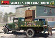 MINIART SOVIET 1,5 tonnellata Cargo trasporto camion kit di costruzione 1:3 5