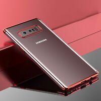 Samsung Galaxy Note 8 Hülle Case Handy Cover Schutz Etui Schutzhülle Bumper Pink