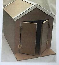 1:12 Scale Flat Pack Wooden Beach Hut Garden Workshop Dolls House Miniature Kit