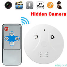 HD DVR SPY Hidden Camera Smoke Detector Motion Detection Video Recorder Cam CF8