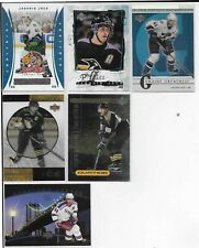 6 CARD UPPER DECK INSERT LOT JAROMIR JAGR PENS- CAPS- RANGERS  #2