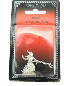Necromancer #03-187 Classic Ral Partha Fantasy RPG Metal Figure