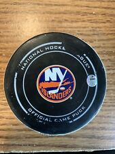 New York Islanders Game Used Puck Bottle Opener