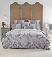 Bianca Elegance Prescott Grey Doona|Duvet|Quilt Cover Set in All Sizes