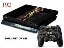 Sony PS4 Console and Controller Skins / Decal -- The Last of Us (#0192)