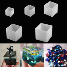 Transparent Silicone Square Mould Epoxy Resin Molds Tools Craft Jewelry Making~