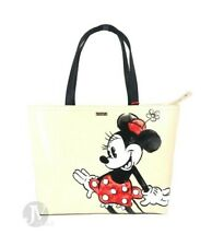 Kate Spade (WKRU6607) KSNY x Minnie Mouse Francis Large Tote Handbag Bag Purse