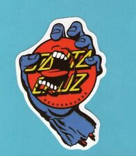 Lot of 2 Screaming Hand Vinyl Stickers for Skateboard/Laptop