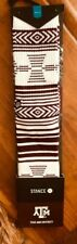 NWT STANCE TEXAS A&M University Aggies Athletic Crew Socks Cotton Large 9-12