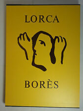 Federico Garcia Lorca Linolschnitte Francisck Bores signiert