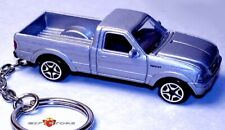 RARE!! KEY CHAIN RING SILVER FORD RANGER TRUCK PICKUP NEW CUSTOM LIMITED EDITION