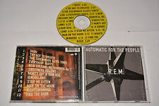 R.E.M. - AUTOMATIC FOR THE PEOPLE - MUSIC CD RELEASE YEAR:1992