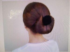 7 Black EZ Hair Bun, Roll A Bun,Twist A Bun, Quick Buns, Bun Maker, Hair Rollers