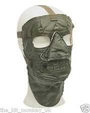 Original Army Arctic Extreme cold weather face mask - Olive Green PVC Unissued