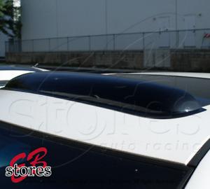 "Smoke Tinted 3mm Sunroof Moonroof Visor 880mm 34.6"" For 1988-91 Honda CR-X Coupe"