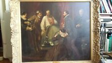 More details for amazzzzzing beautifully painted antique victorian painting king james 1st