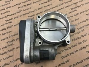 BMW THROTTLE BODY PLATE INTAKE AIR OEM N62B44 E65 E53 E60 E63