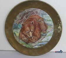 Bären Sammel- & Zierteller aus Porzellan mit Teller