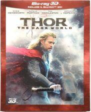 Blu-ray Thor - The Dark World (3D + 2D slipcase) 2013 Usato