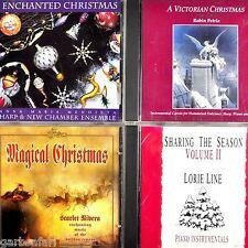 Magical Enchanted Christmas 4 CD Lot Mendieta Scarlet Rivera Petrie Lorie Line