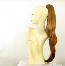 Extension coda di cavallo donna lunga biondo scuro ramato 70 cm rif. 5 en g27