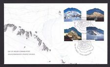 Canada  FDC # 1960    UN  YEAR OF MOUNTAINS    2002  a-d    New & Unaddressed