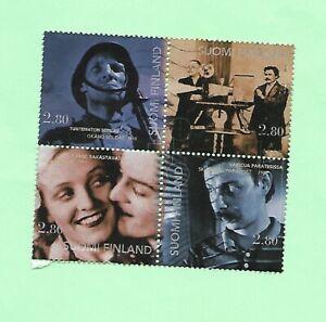 Finland 1996 Commemorative Part Set Block 4 Stamps FU SG1431/32,35/36