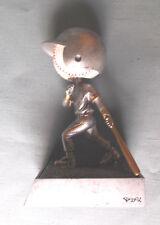 Baseball bobblehead ball trophy resin full color award Pdu 52503Gs