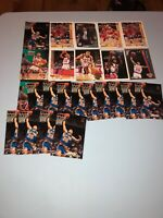 Doc Rivers Lot of 24 Knicks, Clippers, Hawks, Celtics 9 Different Cards Base
