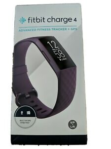 Fitbit Charge 4 Fitness Tracker - Rosewood Unopened New in Box