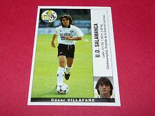 CESAR VILLAFAÑE U.D. SALAMANCA PANINI LIGA 95-96 ESPANA 1995-1996 FOOTBALL