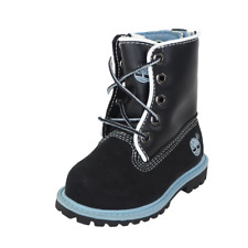 Timberland Toddlers Boots Leather SPD UP Black Blue Waterproof 29876 Outdoors DS