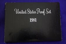 1981-s U.S.Proof set. Type 2 . as issued by Us Mint. Please read description