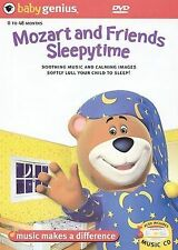 NEW Baby Genius Mozart & Sleepytime Friends w/bonus Music CD (DVD)