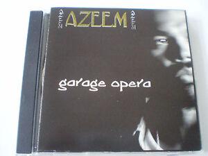 "AZEEM - ""GARAGE OPERA"" CD  - 9 TRACKS - 2000 - HERATIK USA"