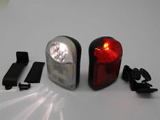 RALEIGH BIKE  FRONT + REAR FIREFLY LIGHT SET REDUCED BRAND NEW