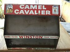 Vintage Camel/Winston/Cavalier Cigarette Metal Store Display Rack