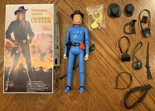 Marx Johnny West Lt. Colonel Custer At The Little Bighorn with Box
