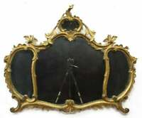 Antique Mirror, Giltwood, Italian Venetian, Wall, Early 1900s, Gorgeous Decor!!