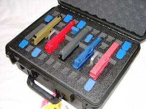 Pelican ™ Storm ™ IM2450 Case + precut 5 Pistol handgun foam + Free nameplate