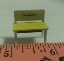 1/64 ERTL DCP GREENLIGHT SNAP ON YELLOW BENCH 4 YOUR DIARAMA TOY DISPLAY S SCALE